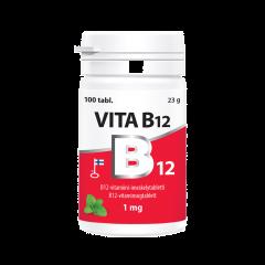 Vita B12 1 mg purkki 100 tabl